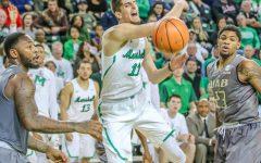 Burks, defense clinch overtime win for Marshall Men's Basketball