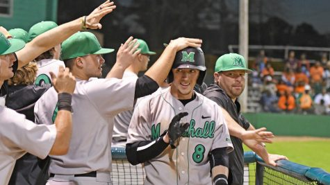 Herd baseball powers past Ohio in game one