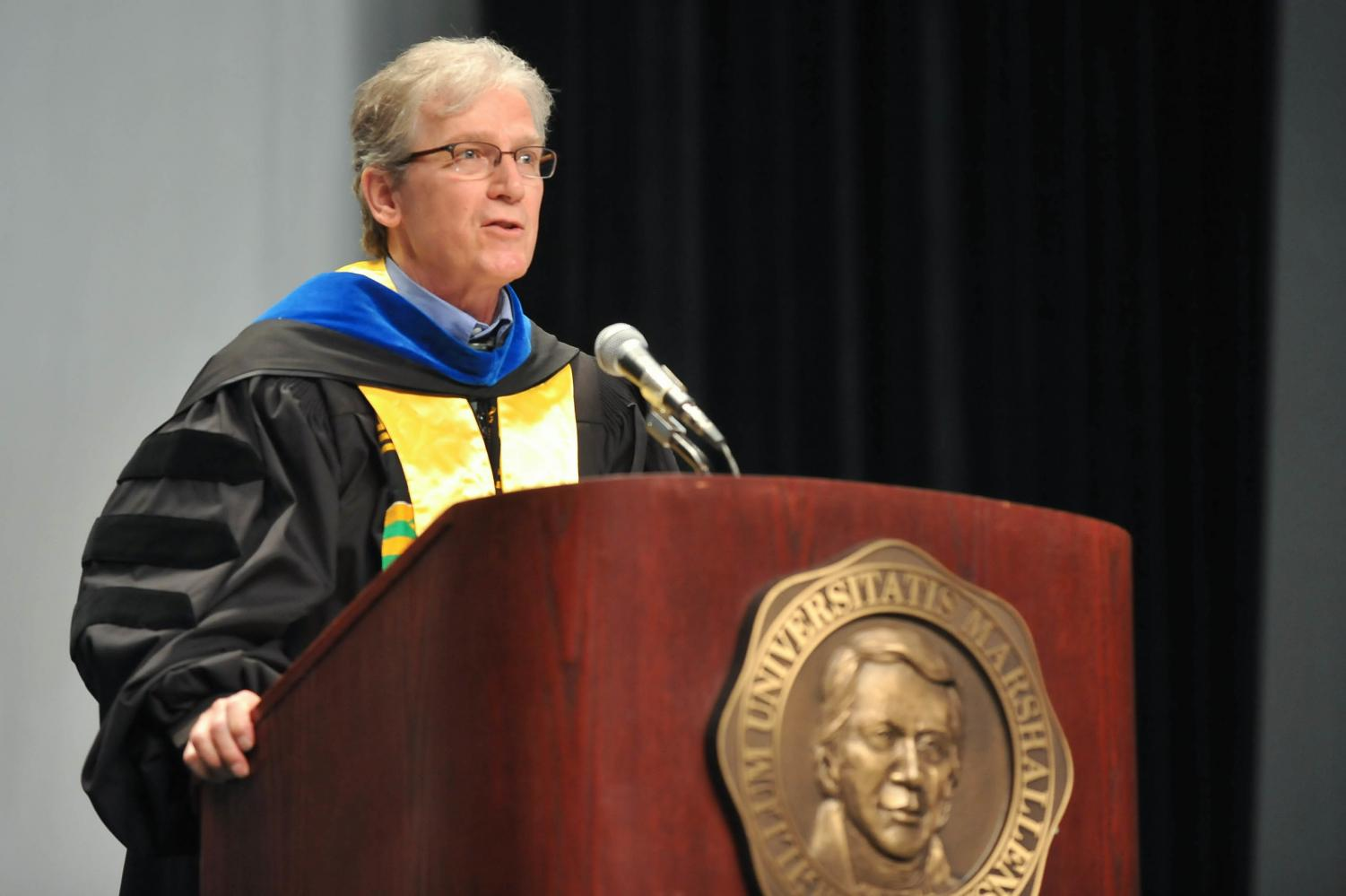 Marshall University Provost Gayle Ormiston announced in September that he was stepping down as provost after 10 years at the University.