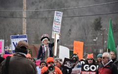 Protesters from around the country march on the Greenbrier