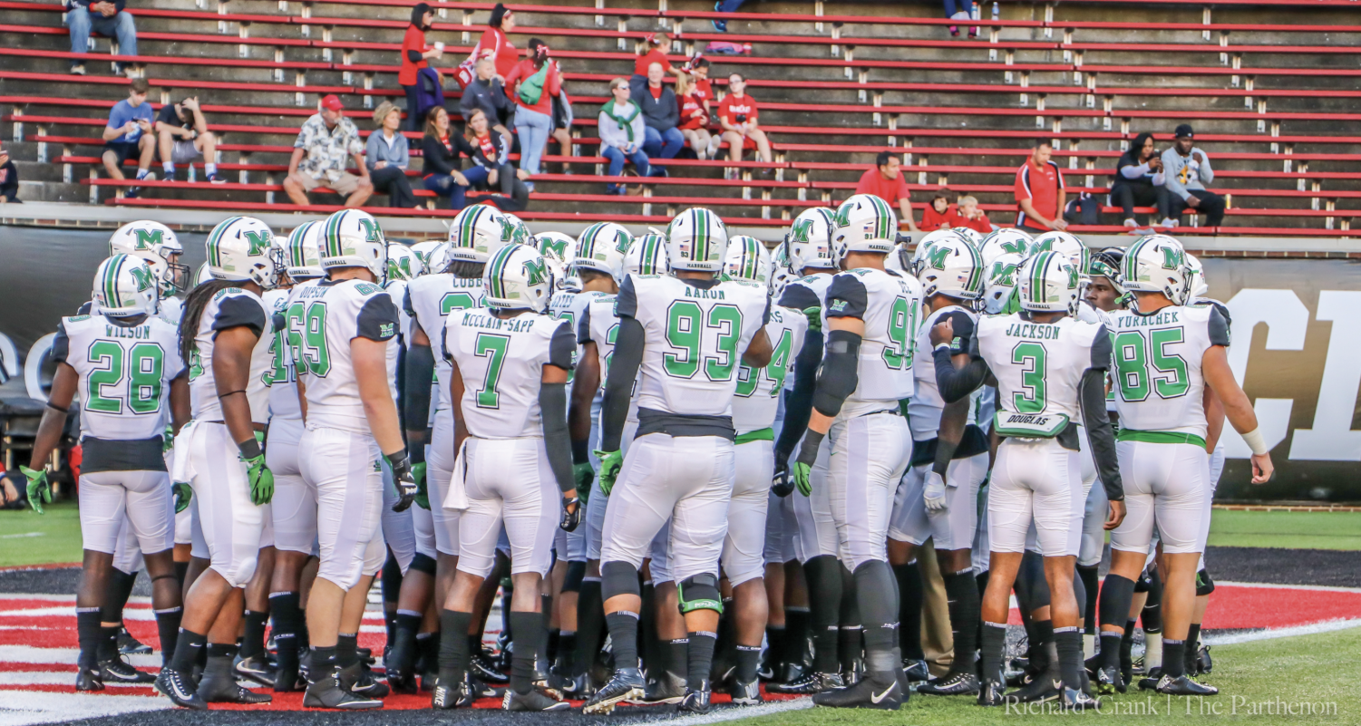 Marshall University football player shot at Severn party has died
