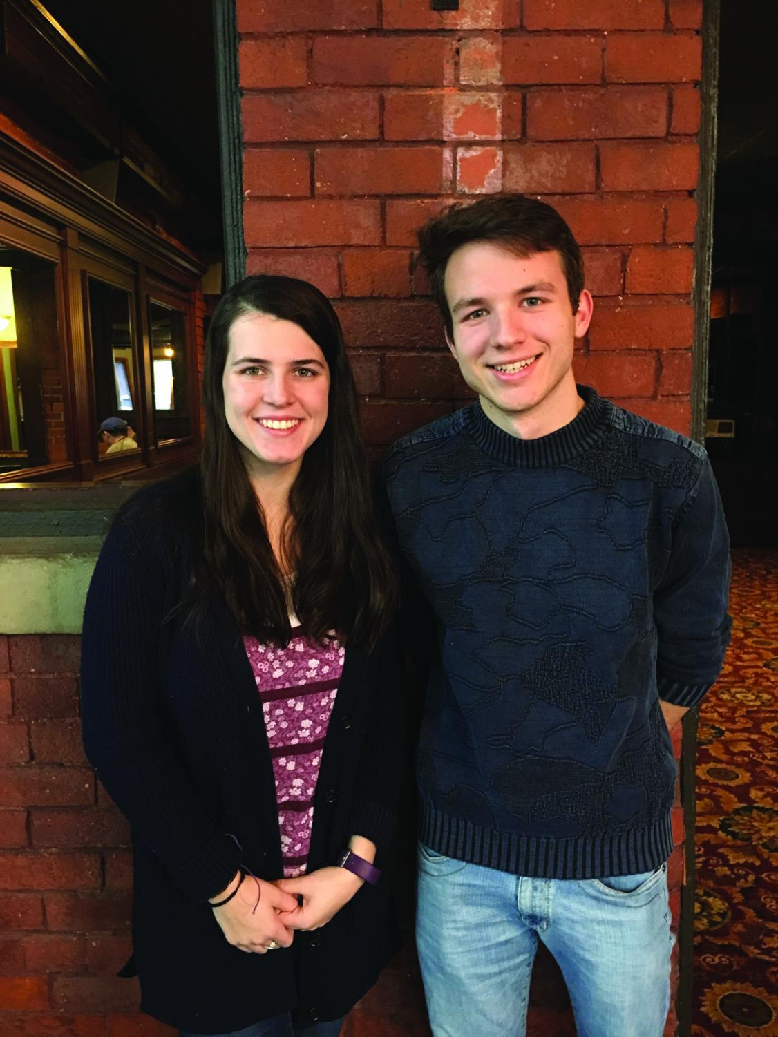 Yeager Scholars Liz Adams and Luca Brambilla will travel to Nepal and India to climb Mount Everest and the English at an orphanage.