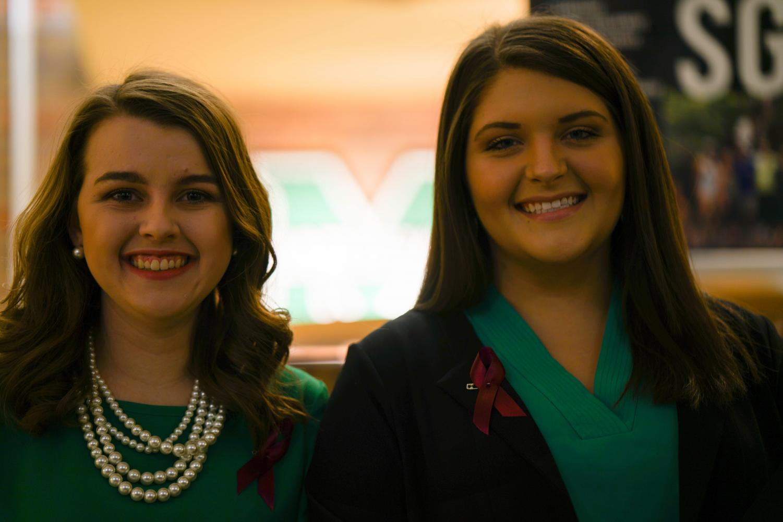 Maddy Parker (Left) Madison Davis (Right)