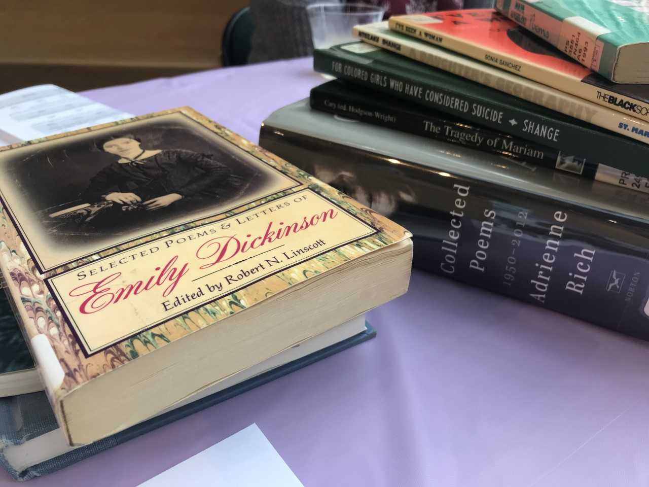 MU Reads' 'book tasting' had books by multiple female authors in an effort to celebrate Women's History Month on campus.
