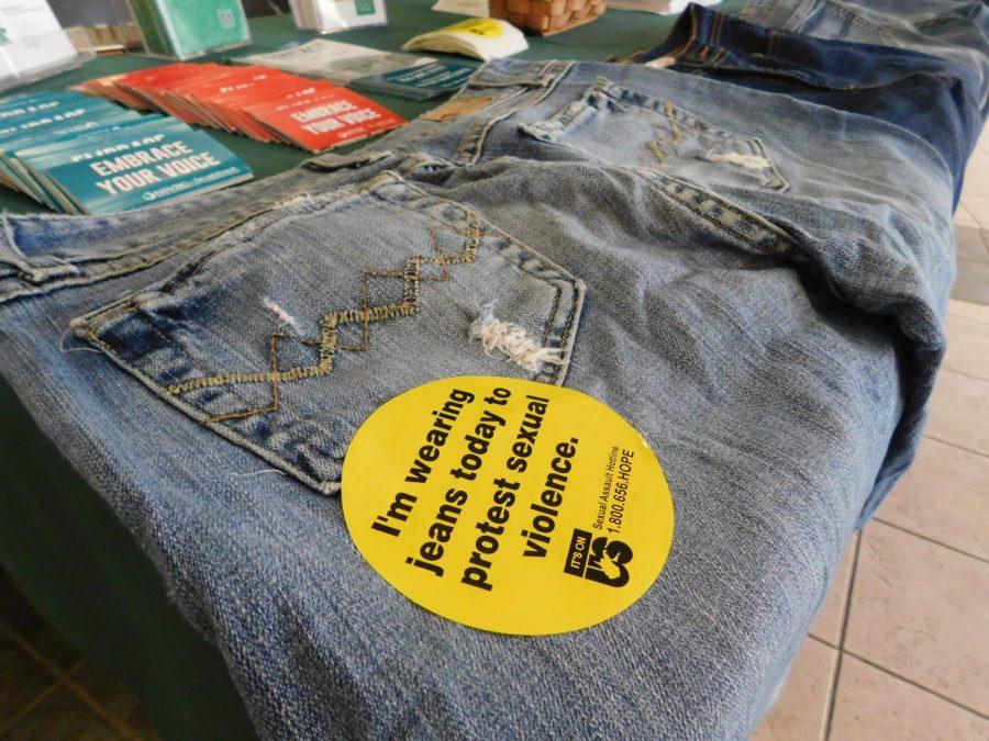 Marshall+raises+awareness+for+sexual+violence+with+Denim+Day