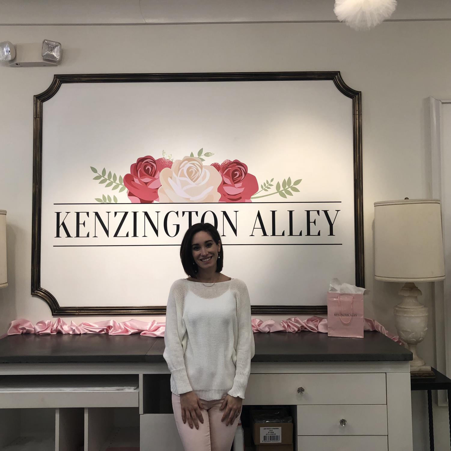 MacKenzie Morley's business, Kenzington Alley, is located downtown at 903 Third Avenue.