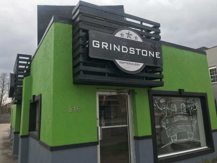 Grindstone+Coffeeology+Central+is+located+at+816+8th+Street+in+Huntington.