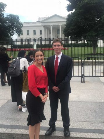 Marshall University's Barclay and Petracca return from trip to nation's capital