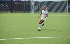 Women's soccer drops first home match