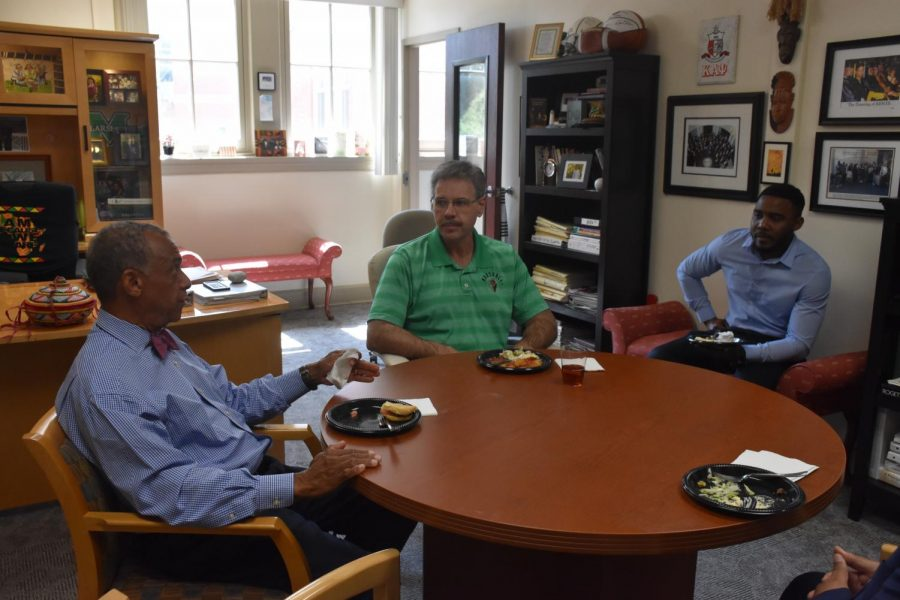 New Provost welcomed as family during Intercultural Affairs lunch
