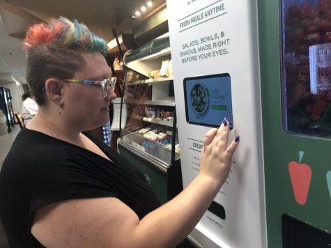 Marshall University welcomes Sally the Salad Robot
