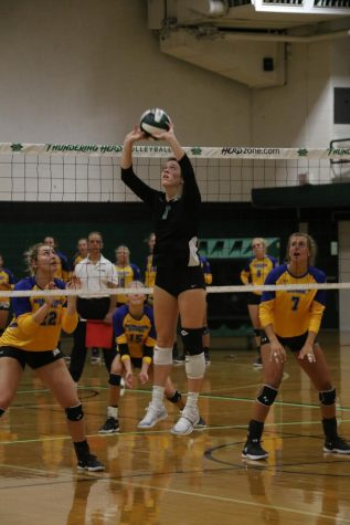 Herd volleyball rallies for first win of season