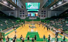 Herd volleyball downs Ohio at home