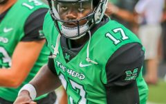 Herd football tops EKU in home opener