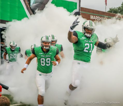 Herd football travels to Virginia for C-USA showdown