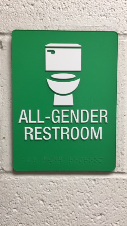 Housing and Residence Life introduces the first all-gender restroom on the sixth floor of Twin Towers West.