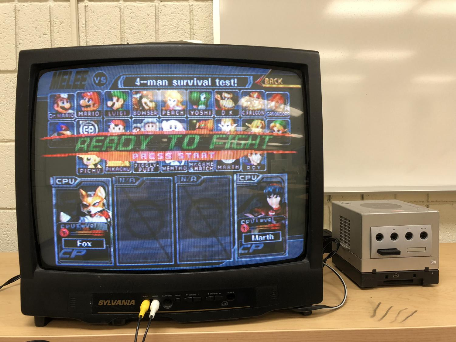Marshall Smashers meets Mondays at 7 p.m. in Harris Hal room 102 to compete in playing various video games.