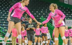 GALLERY: Herd volleyball defeats UTEP in annual Dig Pink game