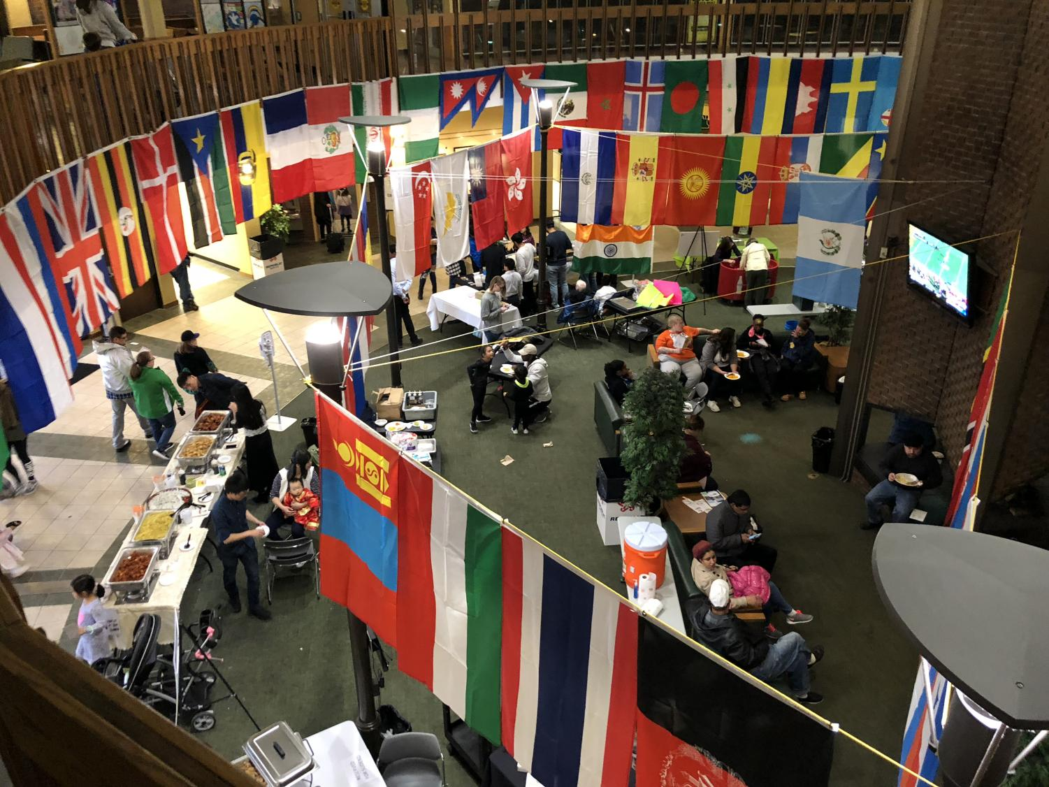 Marshall's 55th annual International Festival returned to Huntington Saturday in the Memorial Student Center, encouraging and celebrating cultural diversity and exploration.