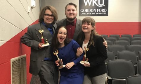 Thundering word places third overall in speech and debate competition