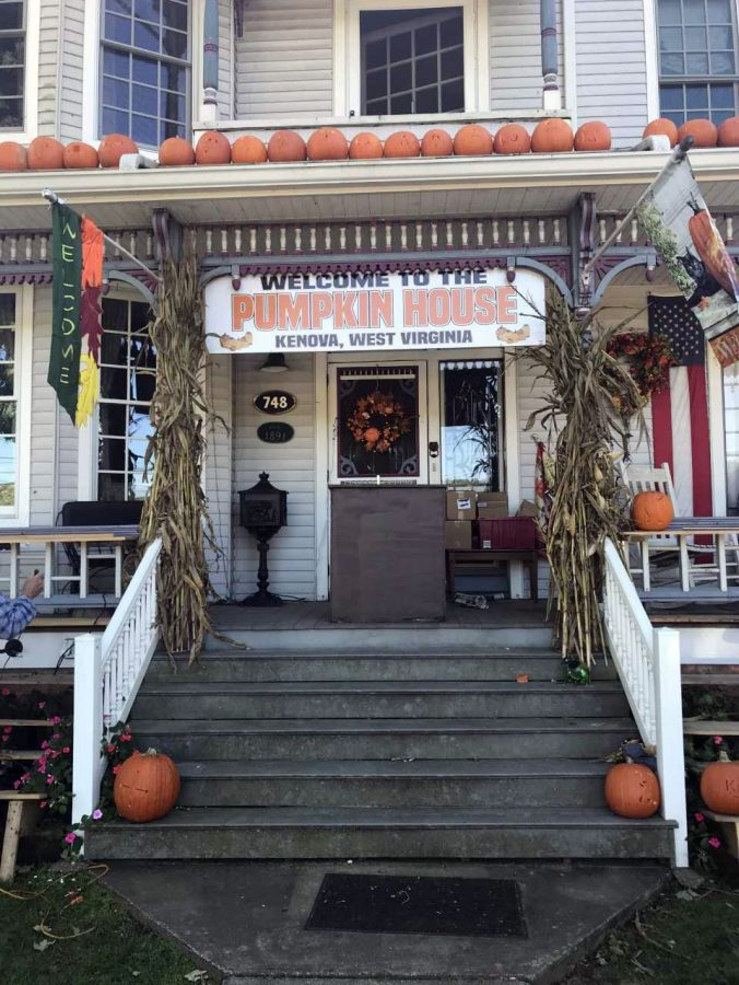 The Pumpkin House, located at 748 Beech St., Kenova, West Virginia, opened Monday, Oct. 22.