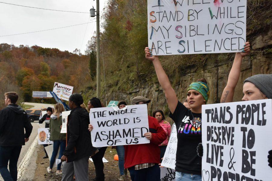 Local+activist+groups+rally+against+Trump