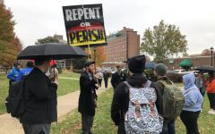 Open-air preacher returns to Marshall's campus