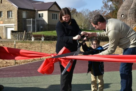 Phase one of all inclusive playground complete