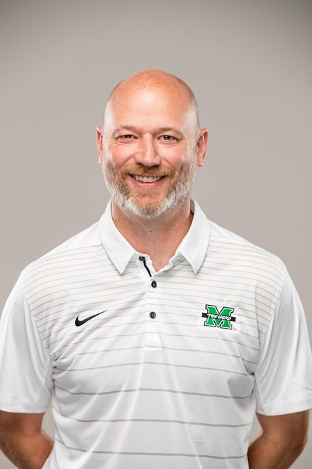Chris+Grassie+is+the+head+coach+of+the+Marshall+University+men%E2%80%99s+soccer+team.