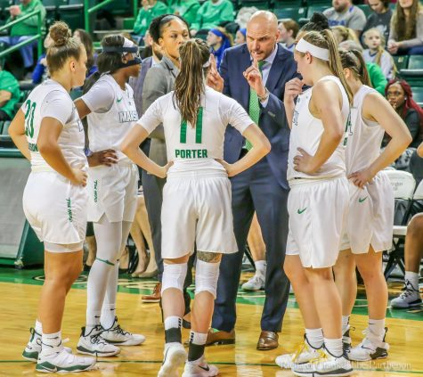 Golden Eagles' pressuring defense hands Herd women's basketball second conference loss