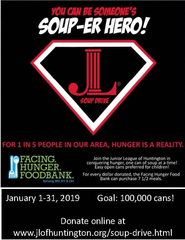Facing+Hunger+Foodbank+has+set+a+goal+of+collecting+at+least+100%2C000+cans+for+those+suffering+from+hunger+in+the+Tri-+State+area.