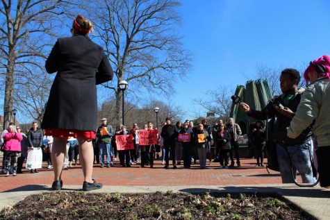 Marshall community unites in protest of campus carry bill