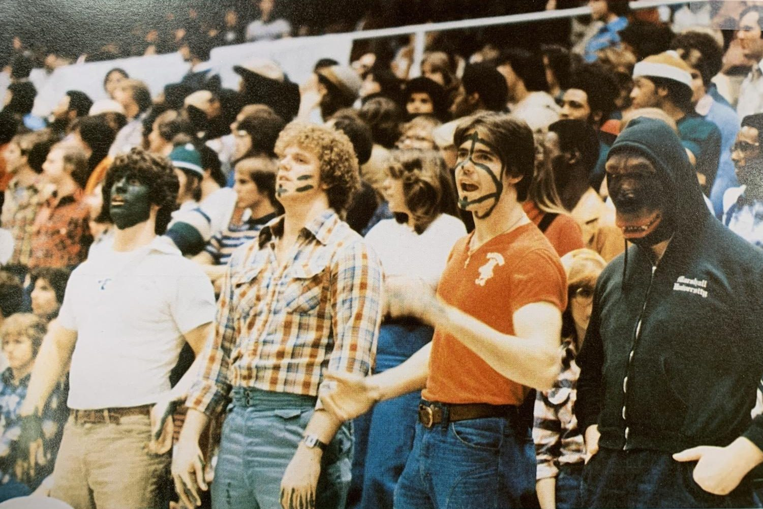 Unnamed Marshall University students found in the 1978 Chief Justice yearbook.