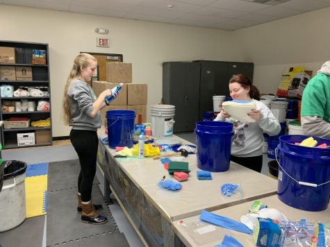 UMS prepares disaster buckets for future
