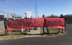 Residents protest W.Va. delegate's business