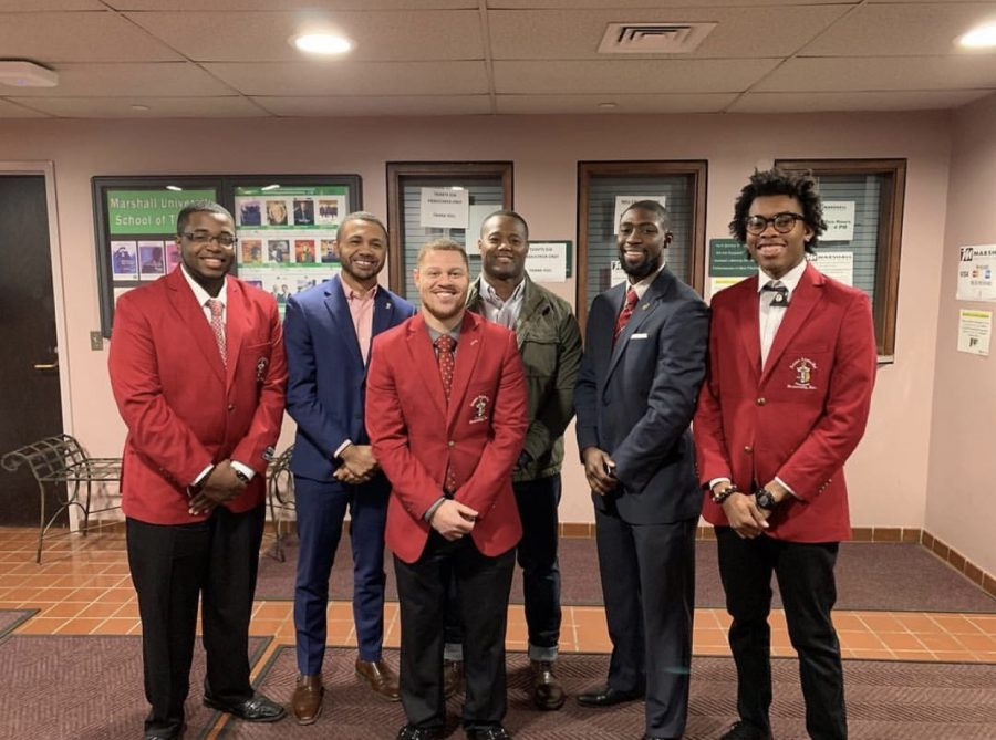 Kappa+Alpha+Psi+was+the+first+black+fraternity+on+Marshall+University%27s+campus%2C+and+the+fraternity+says+they+aim+to+help+members+become+better+people.