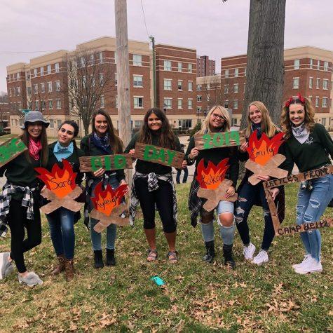 Sororities welcome new members into sisterhood at Bid Day