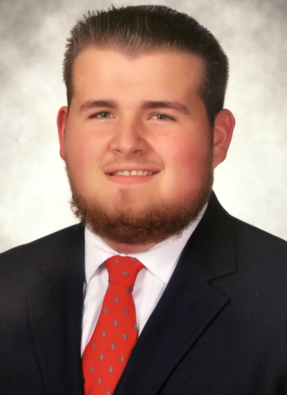 Logan Adkins was voted IFC President in fall 2018.