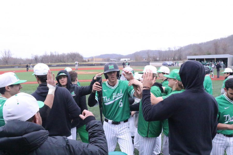 Marshall+Baseball+vs+Eastern+Michigan+in+Spring+2019