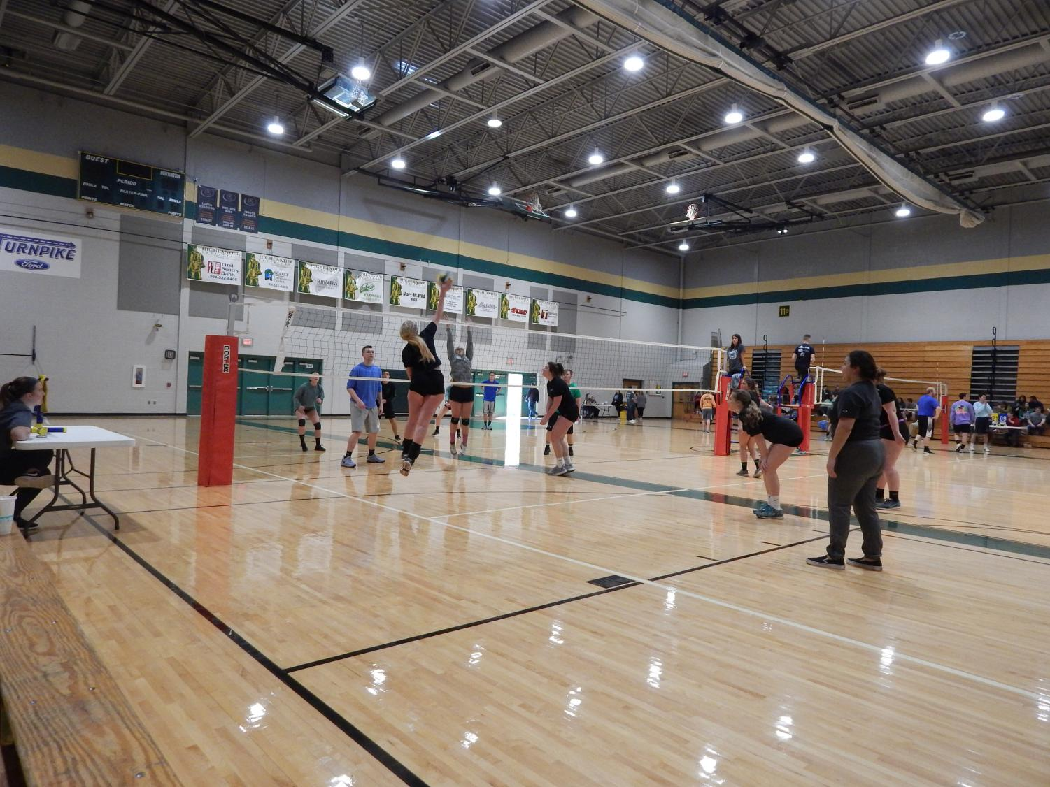 Alpha Sigma Phi and Delta Zeta's sixth annual Spike for a Cause volleyball tournament will take place March 10 at Marshall University's Recreation Center to raise money for Starkey Hearing and Home for Our Troops.