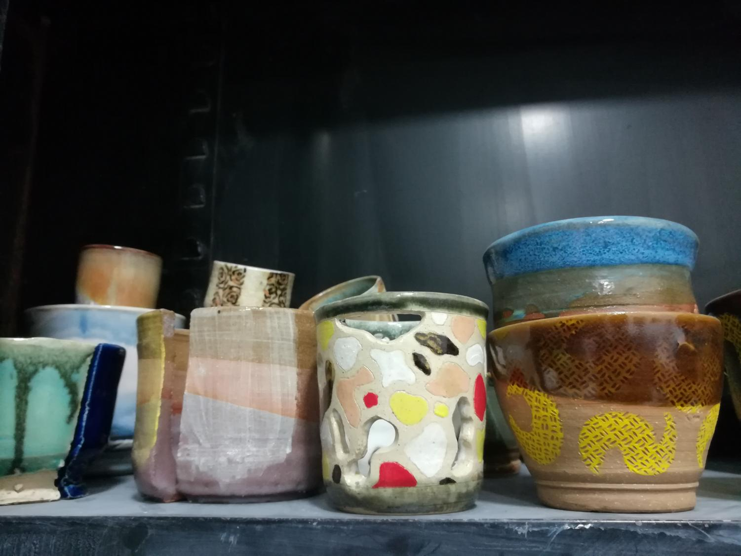 Marshall University's Clay Club is preparing art for their next sale, which will showcase local artists while also benefiting the organization.
