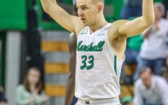 Elmore's engagement, double-double end regular season with Herd win