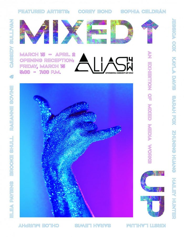 The+art+exhibition+%22Mixed+Up%22+will+feature+work+by+students+in+Art+360%2C+a+mixed+media+course+at+Marshall+University.