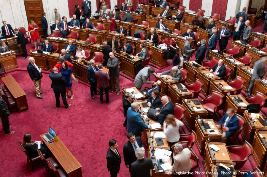 West Virginia House delegates enter chambers, Saturday, March 9. New proposals concerning water quality and protections will not be reviewed until the 2020 legislative session.
