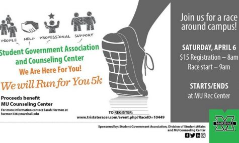 Mental health 5K to raise funds for Counseling Center