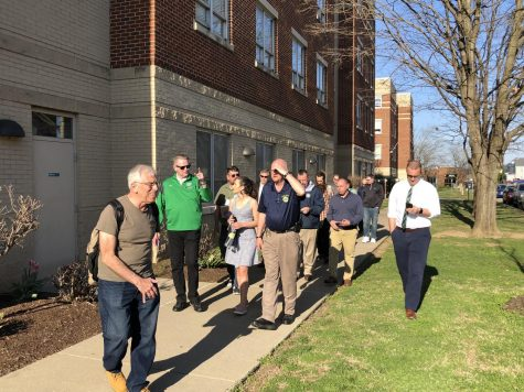 City officials, residents, students discuss concerns during Walk with Mayor