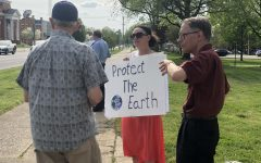 Protect our Planet protestors plea for environmental protection, awareness