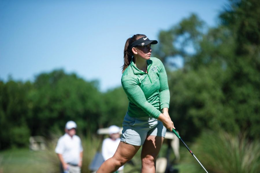 Athlete of the week: Kerri Parks, women's golf