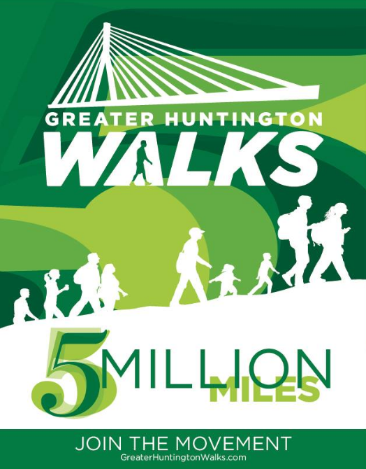 Flyer+for+Greater+Huntington+Walks.+The+organization+has+increased+this+year%E2%80%99s+goal+to+walk+5+million+miles.