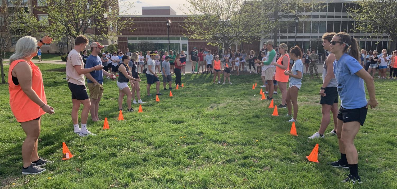 Greek Life members competed in basketball, soccer, an egg toss and more to strengthen relationships during Greek Week, but the results created disagreements between chapters instead.